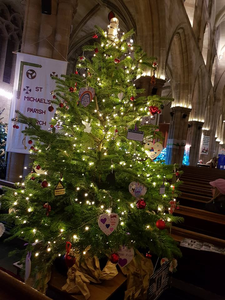 festival of christmas trees st michaels parish church - Christmas In St Michaels